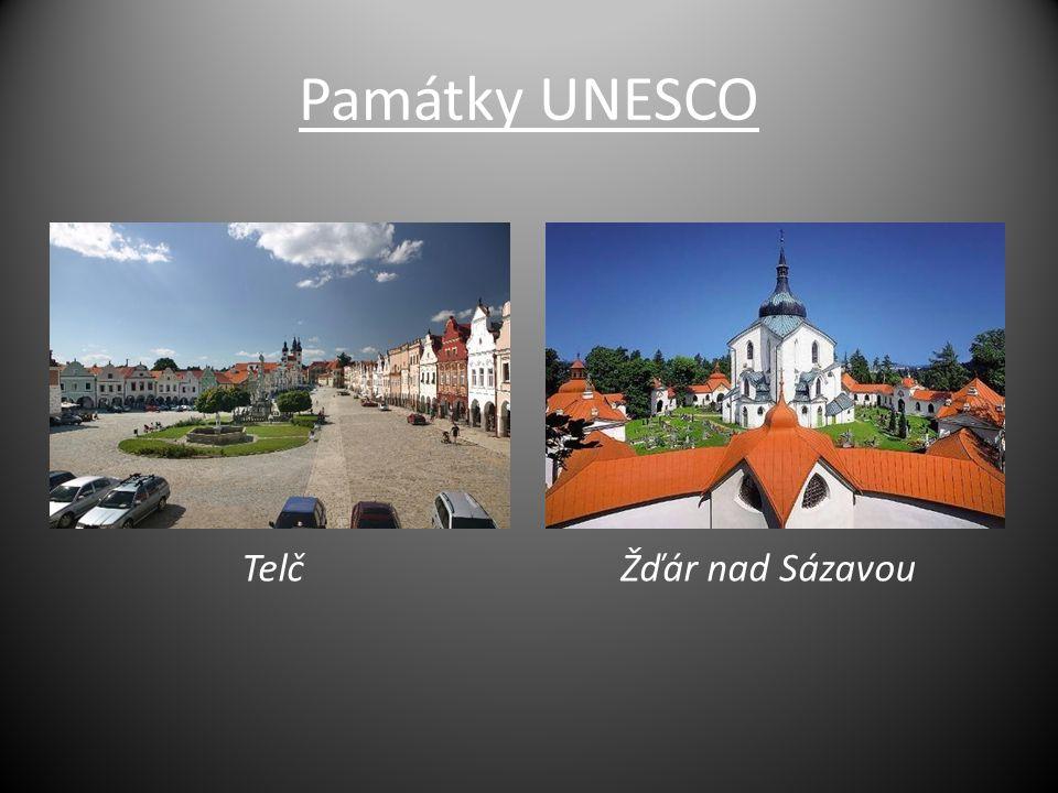 Památky UNESCO TelčŽďár nad Sázavou