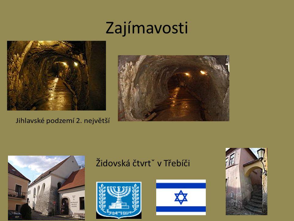 Židovská čtvrtˇ v Třebíči Zajímavosti