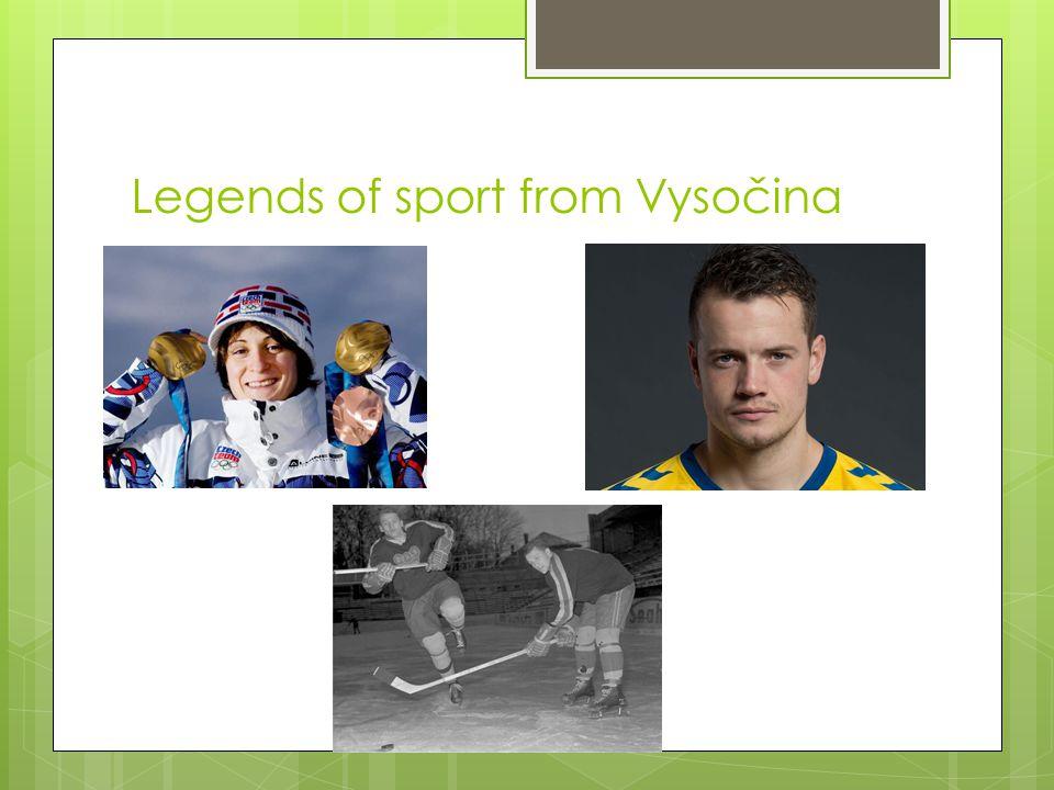 Legends of sport from Vysočina