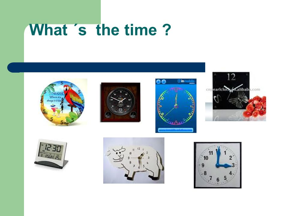 What ´s the time