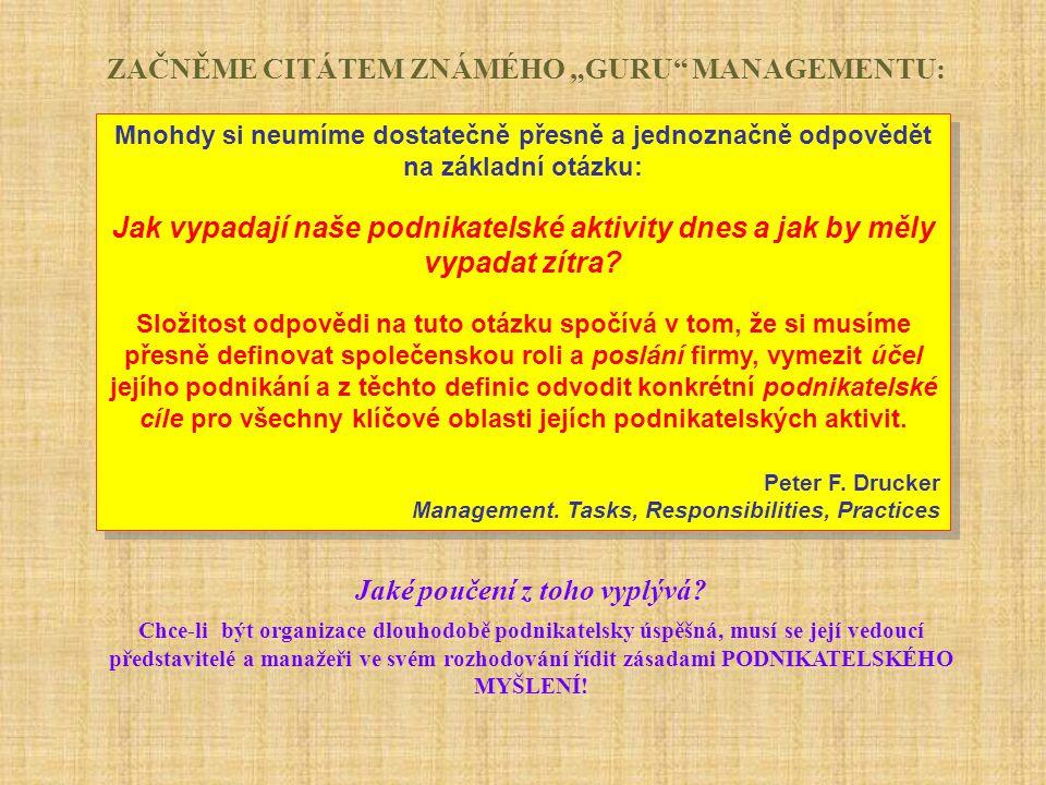 Koncept budování platformy dalšího rozvoje podnikání organizace NOVÁ PLATFORMA ROZVOJE CO.