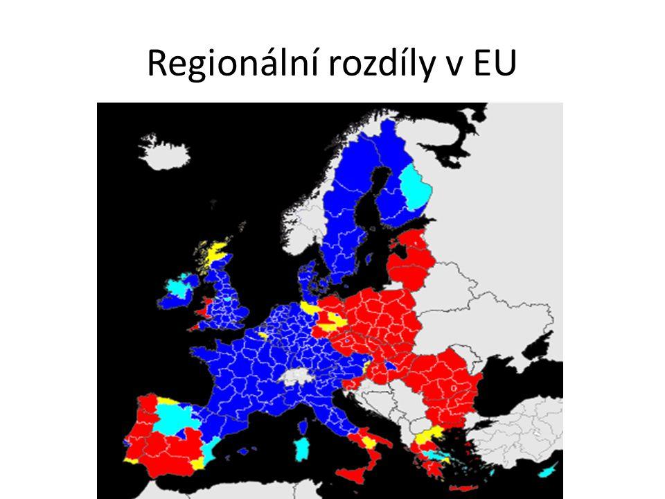 Regionální rozdíly v EU