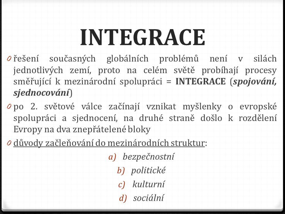 ČESKO A EVROPA 0 při vytváření sjednocené Evropy sehrála významnou roli i naše země – vstupy Česka do Evropy: 1) příchod Slovanů v 5.