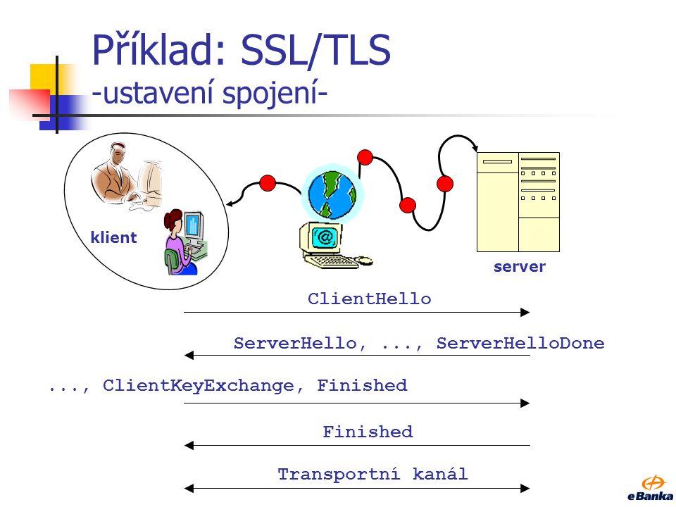 Diffie-Hellman(4) Half-certified, Ephemeral, ElGamal key agreement Příklad komunikace: Pouze uživatel B použije svůj veřejný klíč uživatel A – zahajuj