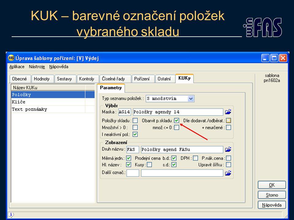 Zpracování inventury Zpracování inventury naslepo SQL -> Pravé tlačítko myši ->Smazat