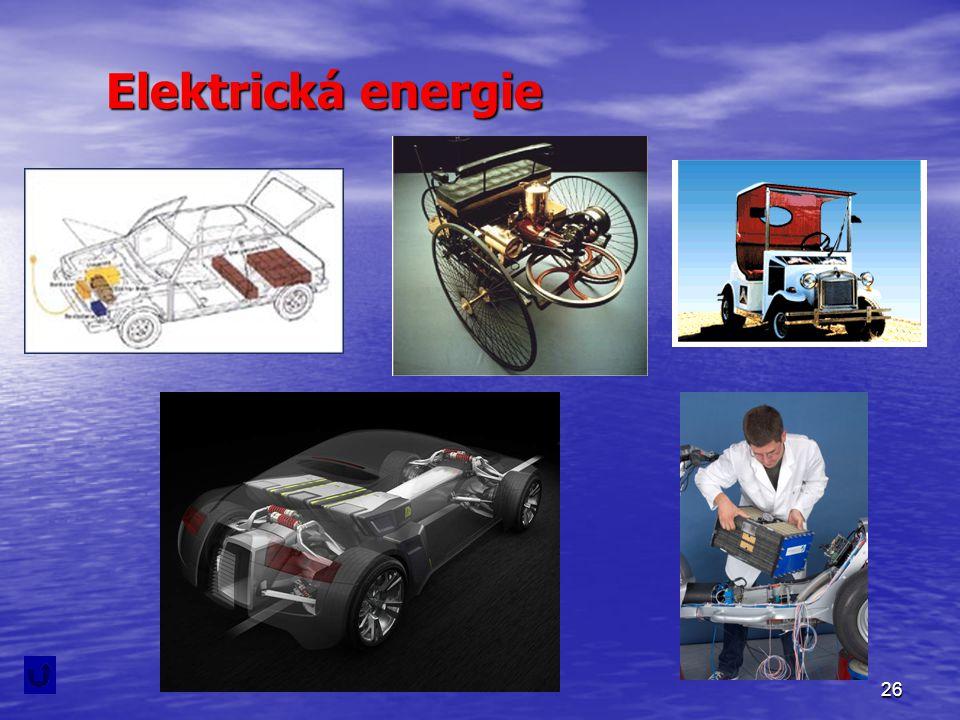 26 Elektrická energie