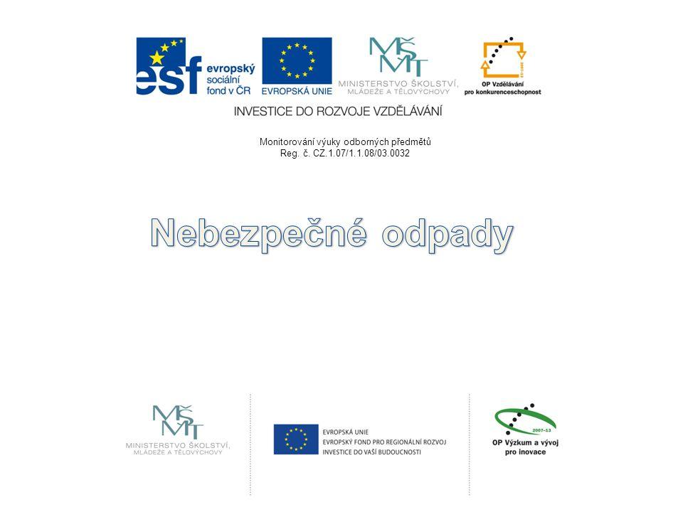 Monitorování výuky odborných předmětů Reg. č. CZ.1.07/1.1.08/03.0032