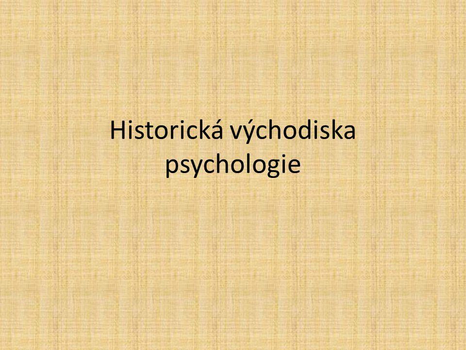 Psychologie Předmět studia: ???