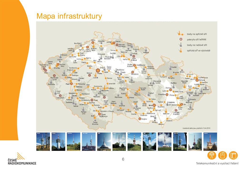 6 Mapa infrastruktury