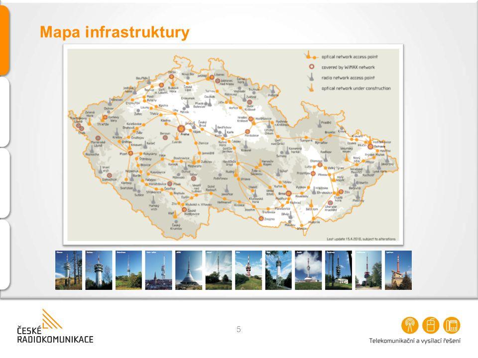 5 Mapa infrastruktury