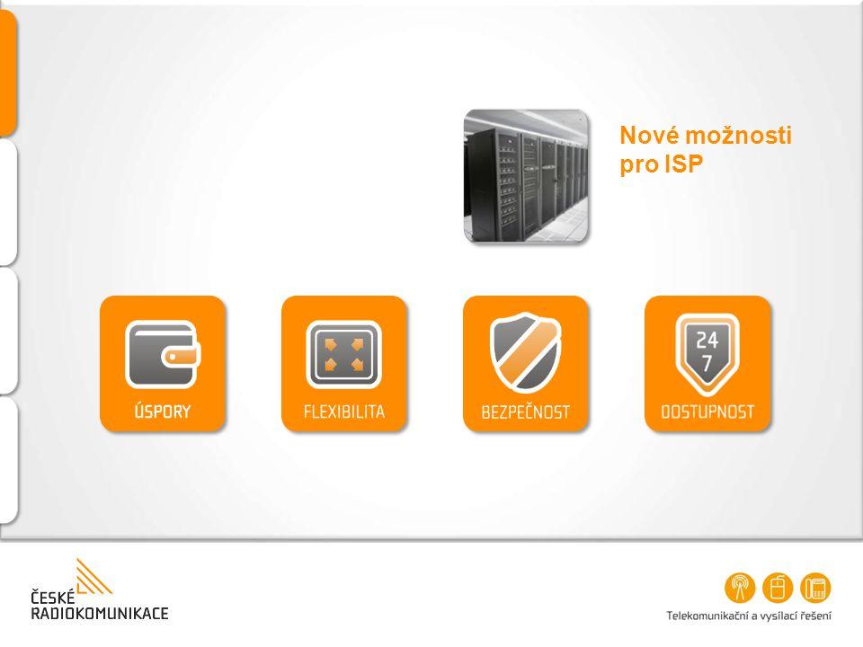 Nové možnosti pro ISP
