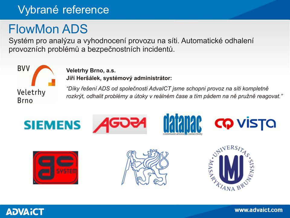 www.advaict.com Vybrané reference FlowMon ADS