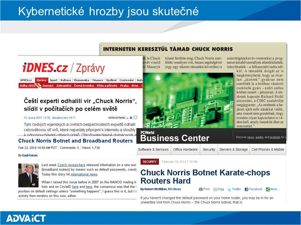 Schopnosti odhalování malware Dle zprávy Eurostat z února 2011 84% PC v Evropě je chráněno antivirem 31% PC v Evropě obsahuje nežádoucí škodlivý kód