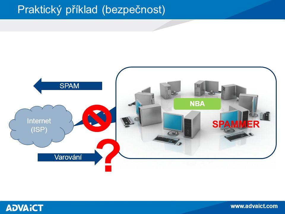 www.advaict.com Praktický příklad (provoz) VPN přes ISP Uživatel: Proč je ta aplikace tak pomalá.