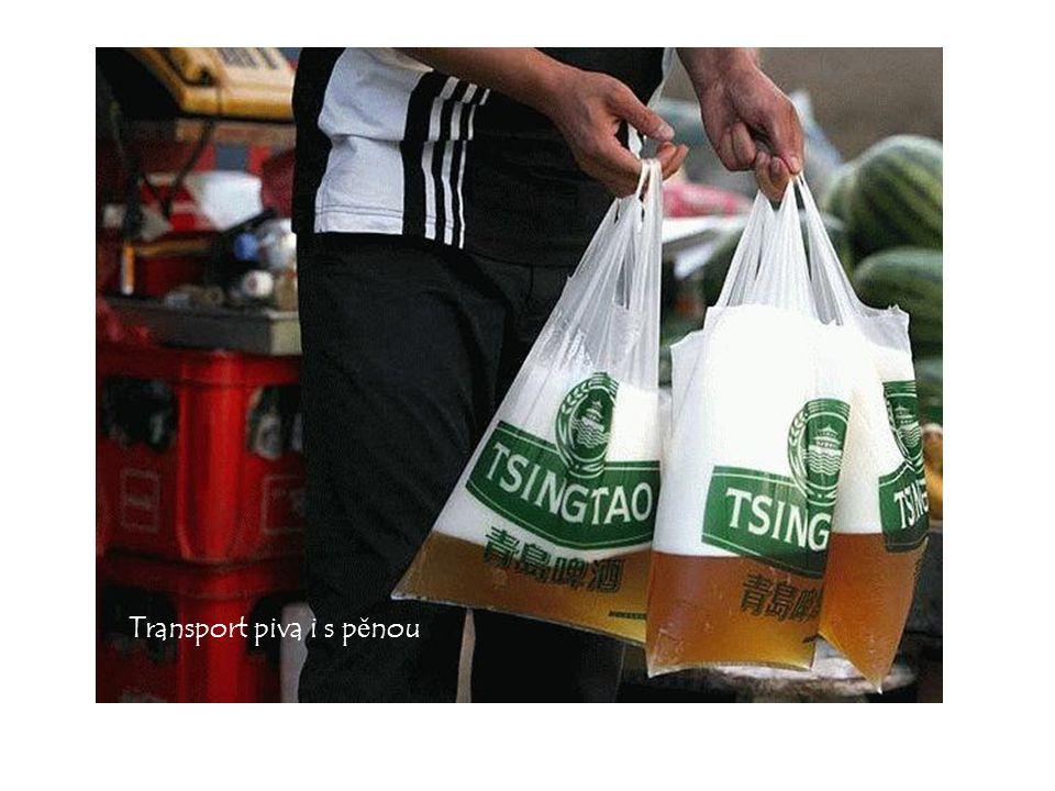 Transport piva i s p ě nou