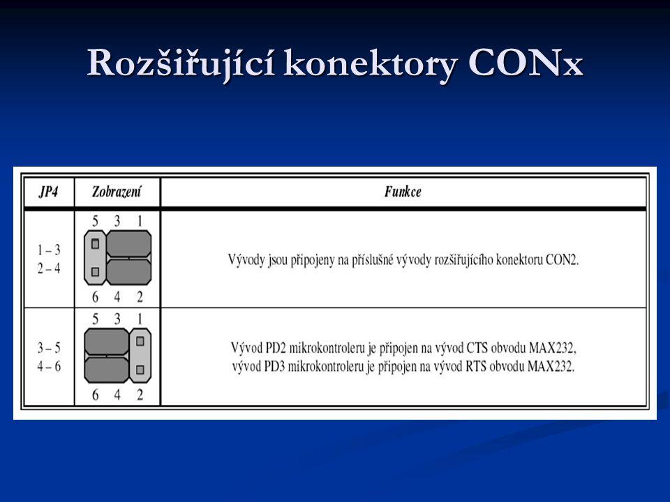 Rozšiřující konektory CONx