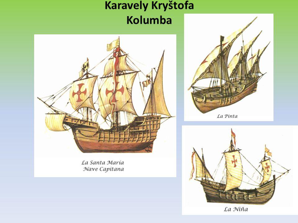Karavely Kryštofa Kolumba