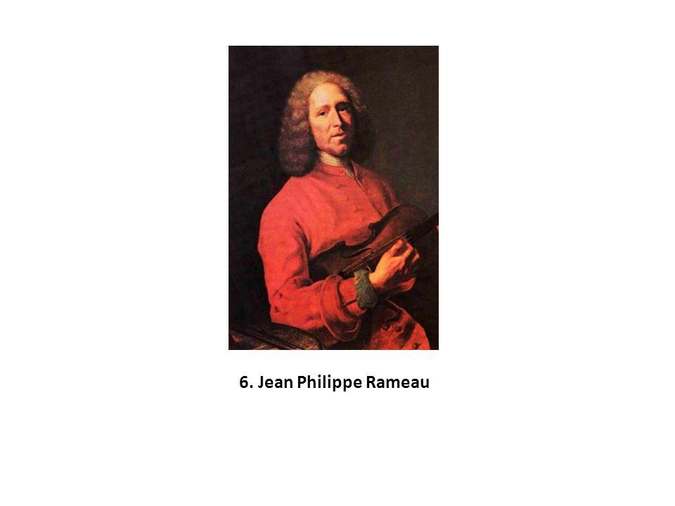 6. Jean Philippe Rameau