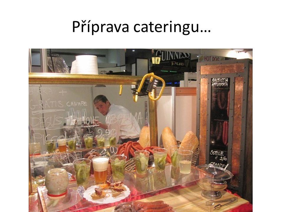 Příprava cateringu…