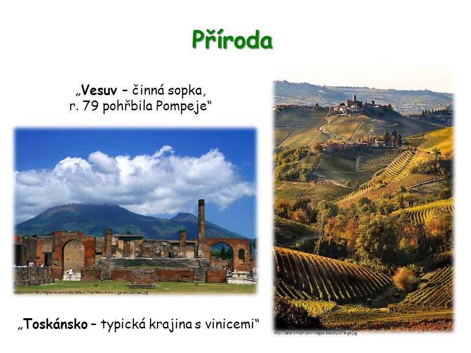 """Příroda """"Vesuv – činná sopka, r."""