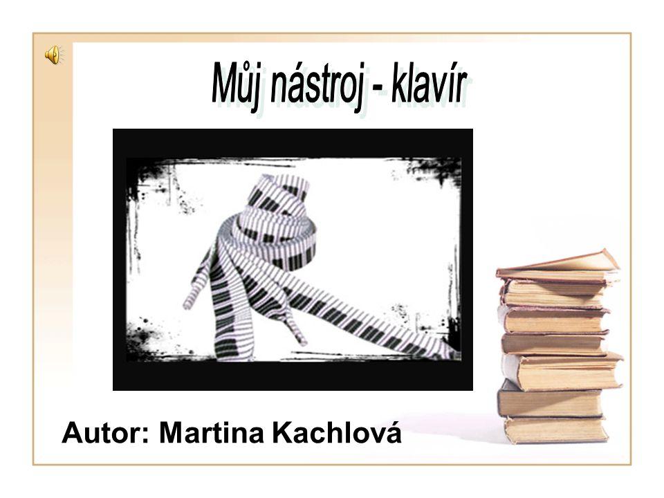 Autor: Martina Kachlová