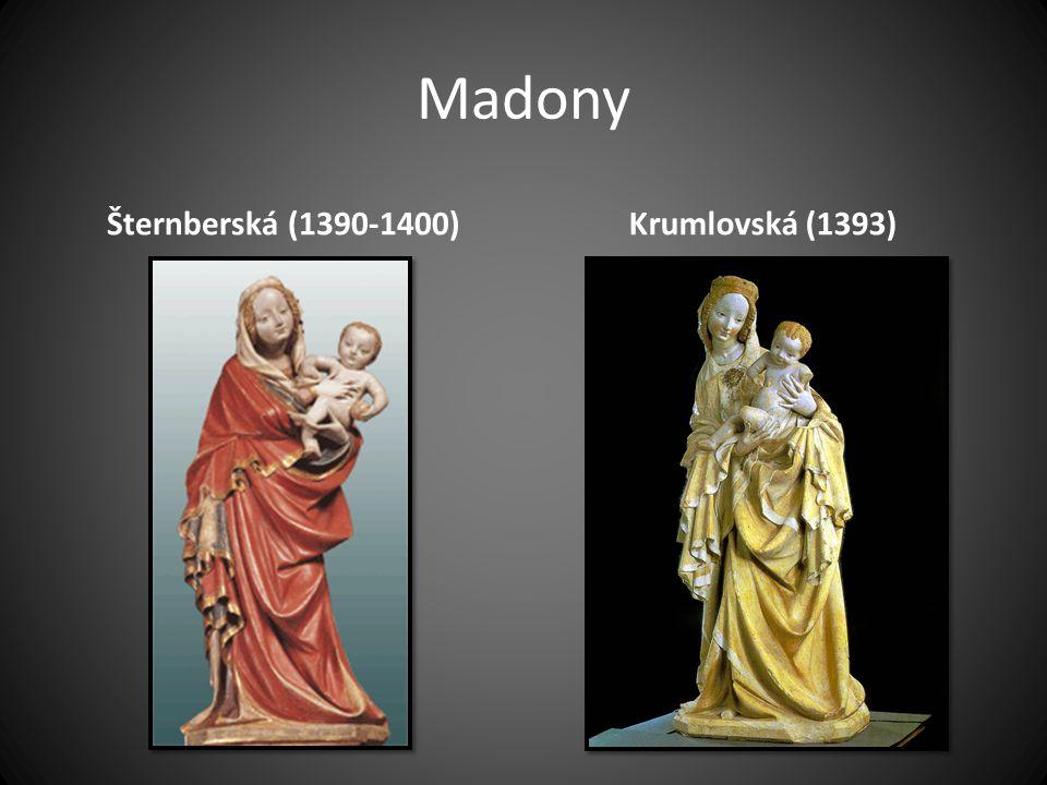 Madony Šternberská (1390-1400)Krumlovská (1393)
