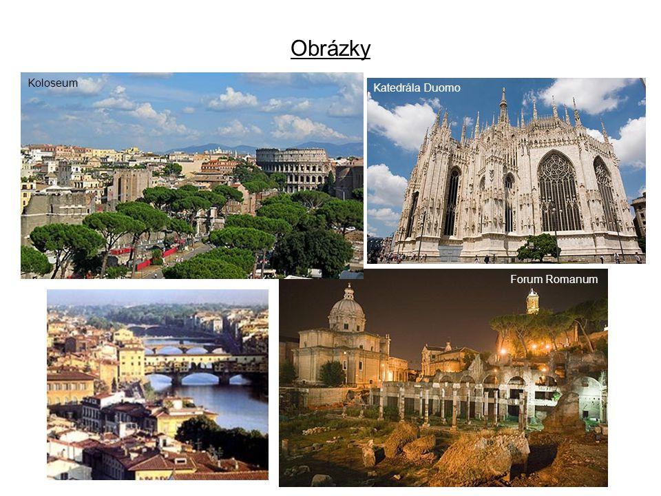 Obrázky Koloseum Forum Romanum Katedrála Duomo
