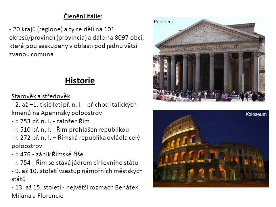 Historie Starověk a středověk - 2.až –1. tisíciletí př.