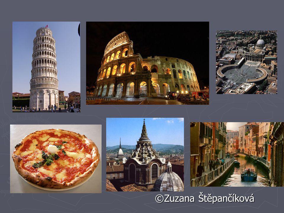 Průmysl -Itálie je vysoce rozvinutou, průmyslovou zemí, -těží se ropa, zemní plyn, černé uhlí rudy,barevné kovy Nejvýznamnějšími odvětvími jsou textil