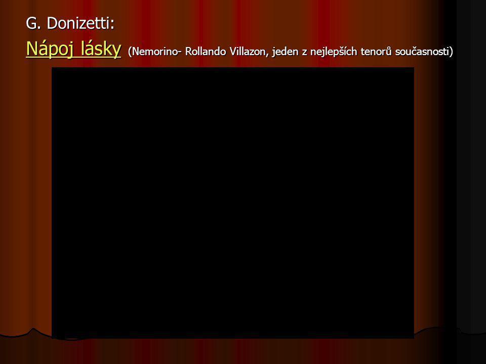 Autorů snažících se o novátorství v opeře bylo mnoho, nový ráz vtiskla italské opeře teprve trojice autorů: GIOACHINO ROSSINI VINCENZO BELLINI GAETANO