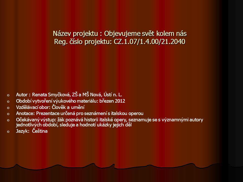 Sestřih opery La boheme La bohemeLa boheme ze Severočeského divadla opery a baletu v Ústí n.L.