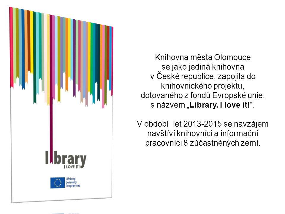 """Knihovna města Olomouce se jako jediná knihovna v České republice, zapojila do knihovnického projektu, dotovaného z fondů Evropské unie, s názvem """"Lib"""