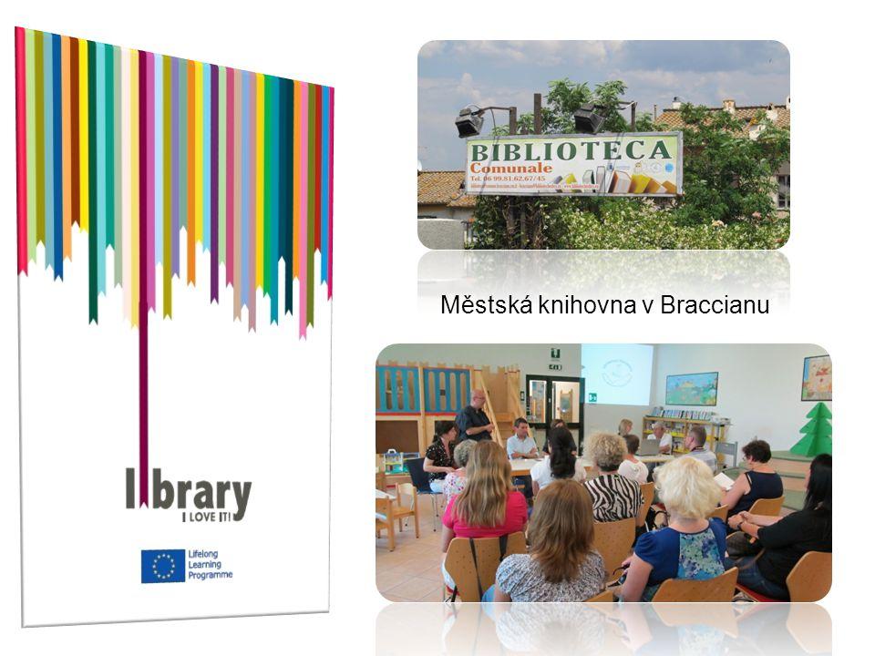 Městská knihovna v Braccianu