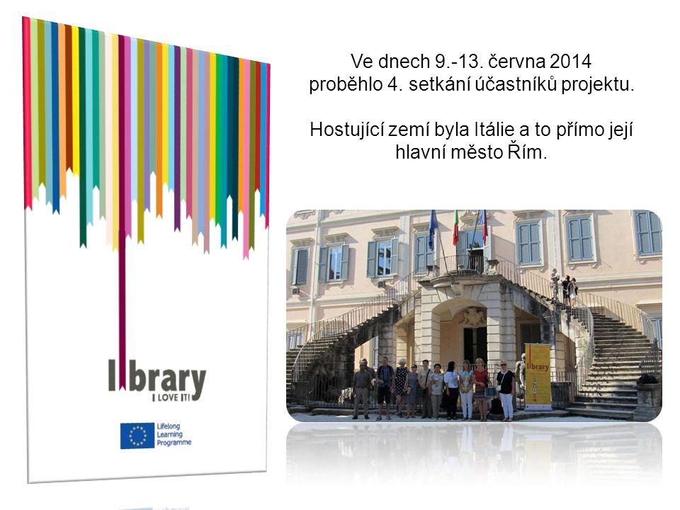 Ve dnech 9.-13. června 2014 proběhlo 4. setkání účastníků projektu. Hostující zemí byla Itálie a to přímo její hlavní město Řím.