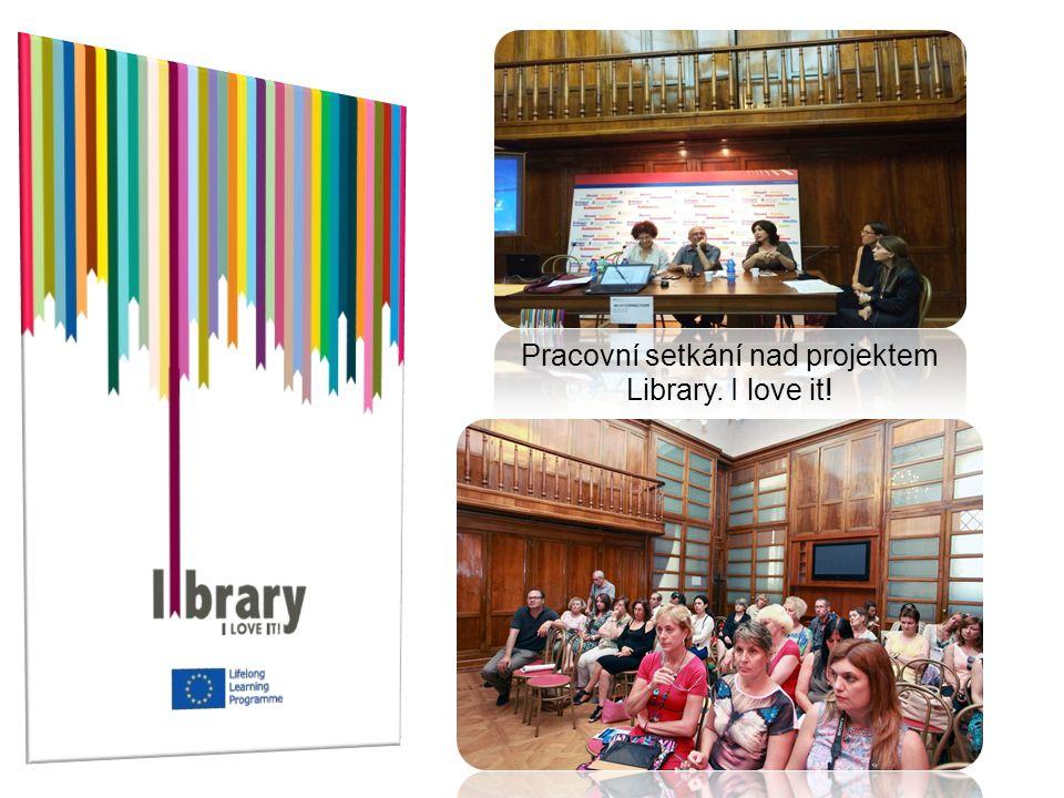 Pracovní setkání nad projektem Library. I love it!