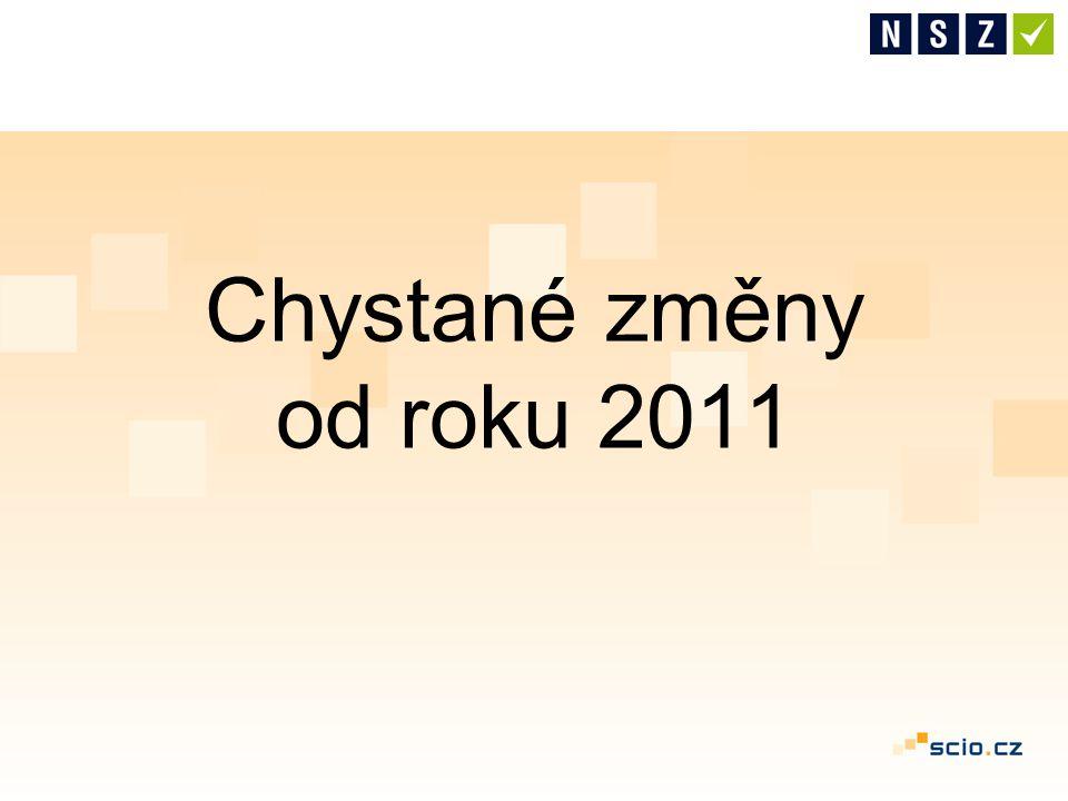 Chystané změny od roku 2011