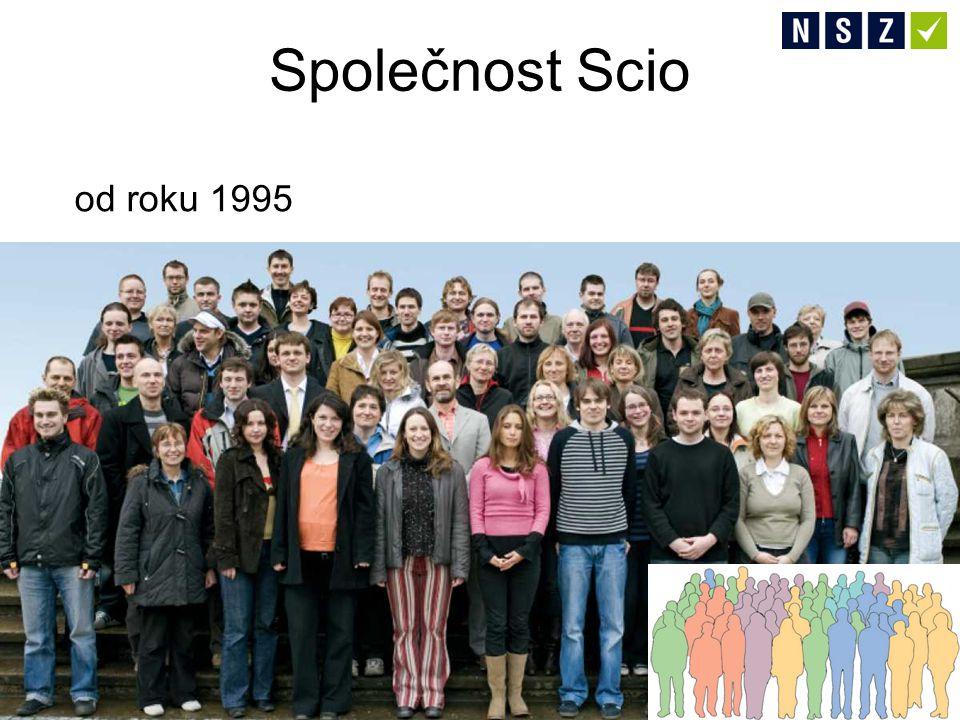 Společnost Scio od roku 1995