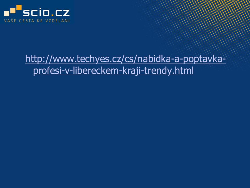 http://www.techyes.cz/cs/nabidka-a-poptavka- profesi-v-libereckem-kraji-trendy.html