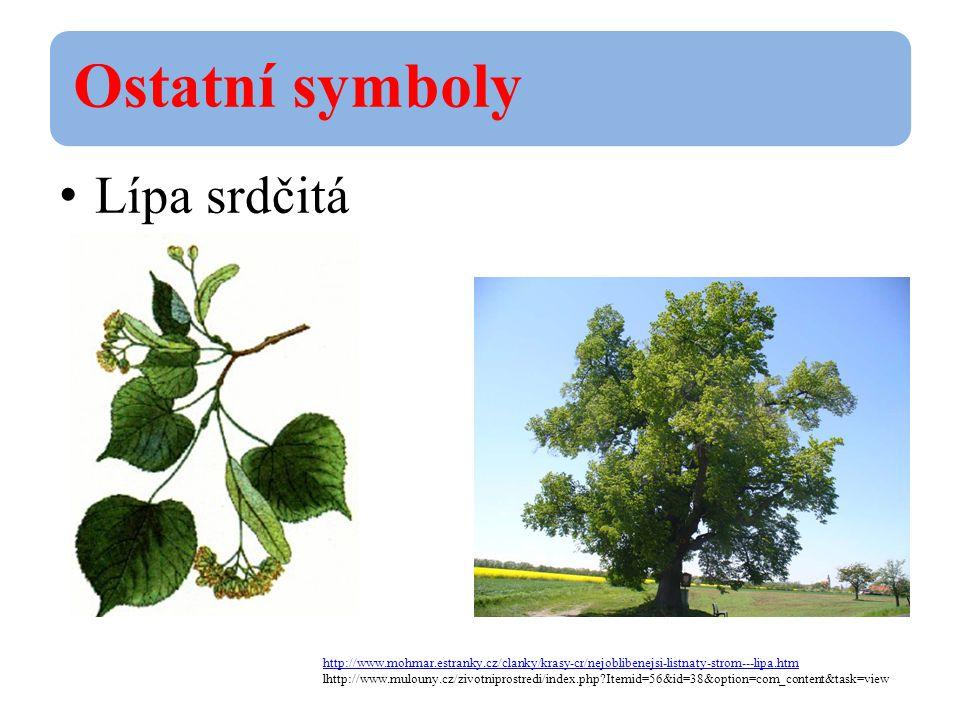 Ostatní symboly Korunovační klenoty http://vlast.cz/symboly-ceske-republiky/