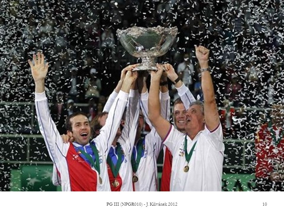 Impact of the 2012 Czech Republic DC victory on CG education PG III (NPGR010) - J. Křivánek 2012 11