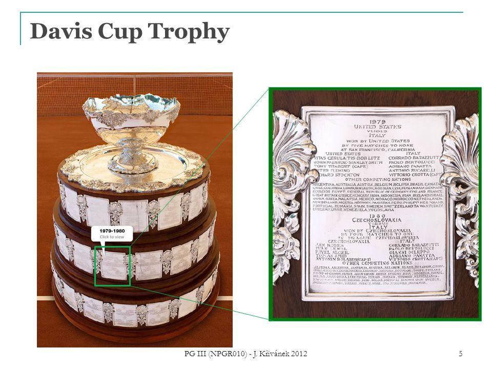 Davis Cup Trophy PG III (NPGR010) - J. Křivánek 2012 5