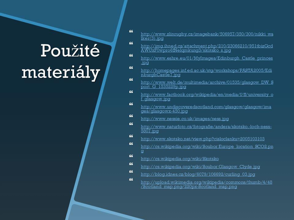 Pou ž ité materiály   http://www.zlinrugby.cz/imagebank/506957/350/300/nikki_wa lker(3).jpg http://www.zlinrugby.cz/imagebank/506957/350/300/nikki_w