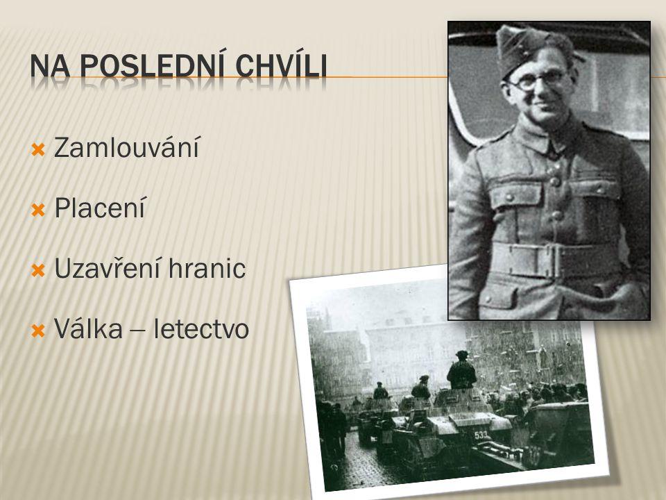 Den odjezdu Počet 14.března 1939 20 19. dubna 1939 36 29.
