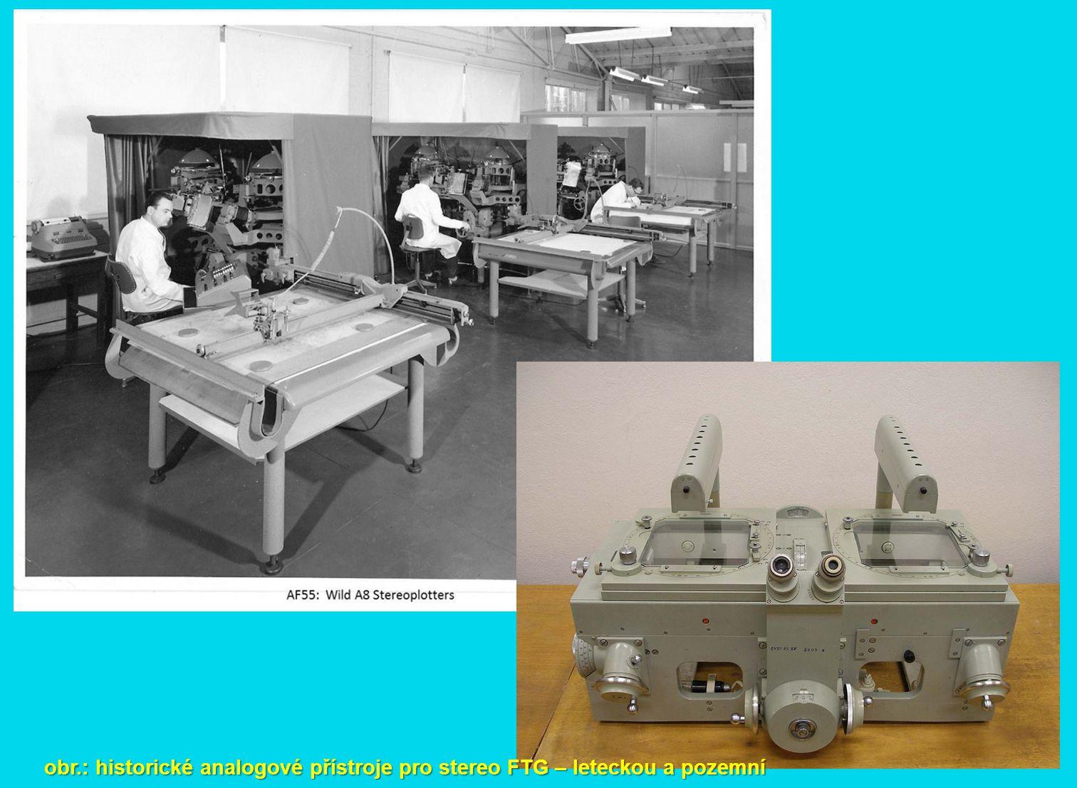 obr.: body DMT získané automaticky (korelací), poloautomaticky a manuálně.. podklad pro ortofoto