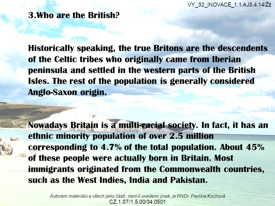 3.Who are the British.