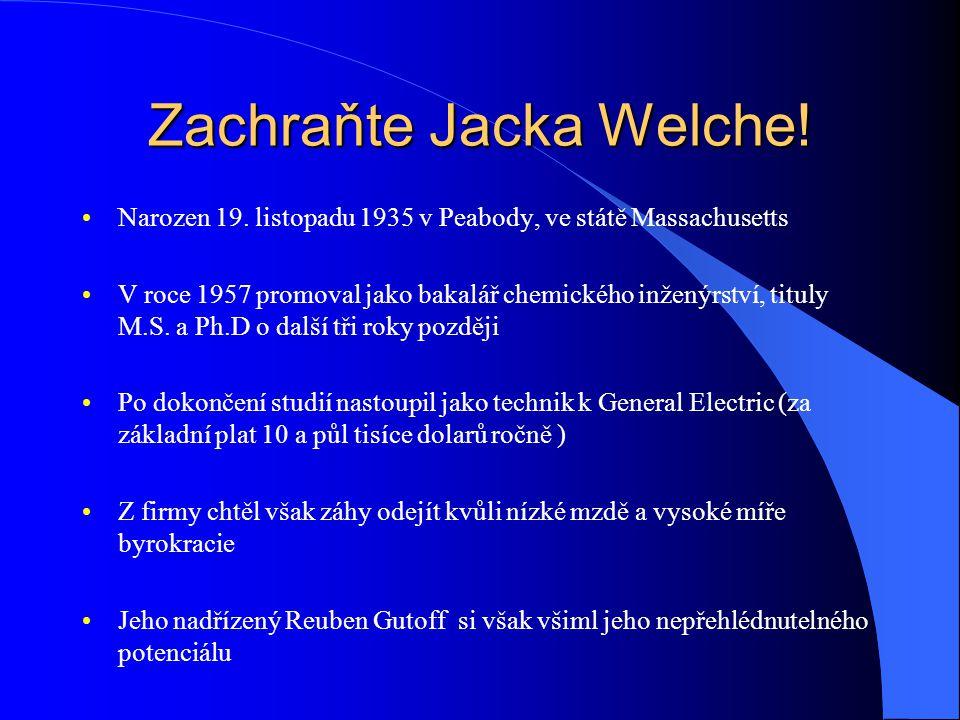 Zachraňte Jacka Welche. Narozen 19.
