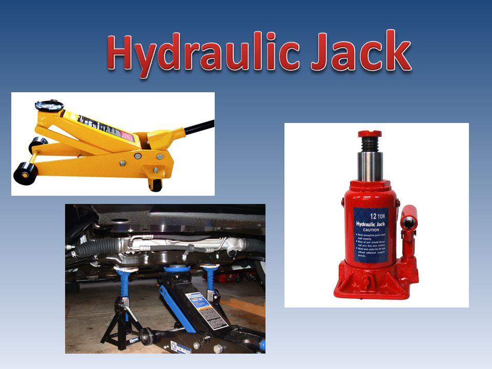 jack – zvedák hydraulic jack – hydraulický zvedák screw jack – šroubový zvedák hydraulic power – hydraulický pohon load – náklad, zatížení mechanical device – mechanické zařízení lift – zvedat, zvednutí capable – schopný apply – aplikovat screw thread – šroubový závit cylinder – válec hydraulic cylinder – hydraulický válec powerful – silnýenable – umožnit provide – zajistit distance – vzdálenost design – navrhnout indicate – udávat manufacturer – výrobce ton – tuna fluid – kapalina compressible – stlačitelný incompressible – nestlačitelný piston – píst piston pump – pístové čerpadlo pump – čerpadlo, čerpat oil – olej stable – stálý self lubricating – samomazací suck – sát reservoir – nádrž inlet valve – sací ventil chamber – komora backward – nazpět forward – dopředu pressure – tlak valve ball – koule ventilu discharge valve – výtlačný ventil