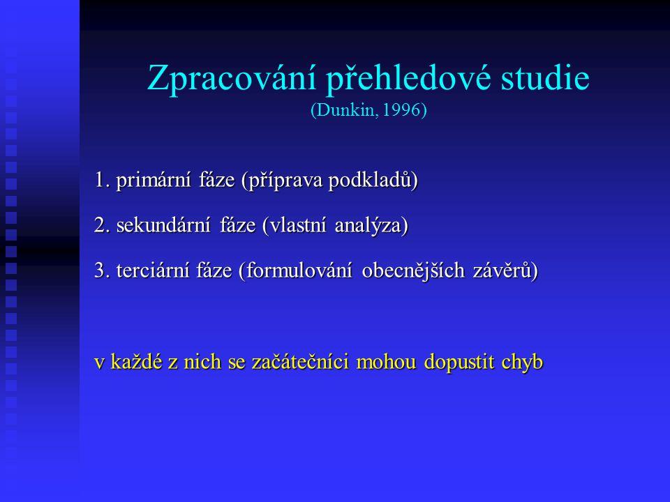 Příprava podkladů pro přehled 1.tradiční knihovnické služby 2.