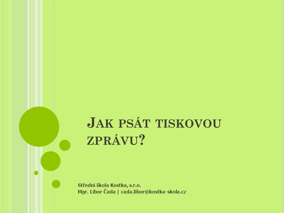 TITULEK Střední škola Kostka, s.r.o.  Mgr.