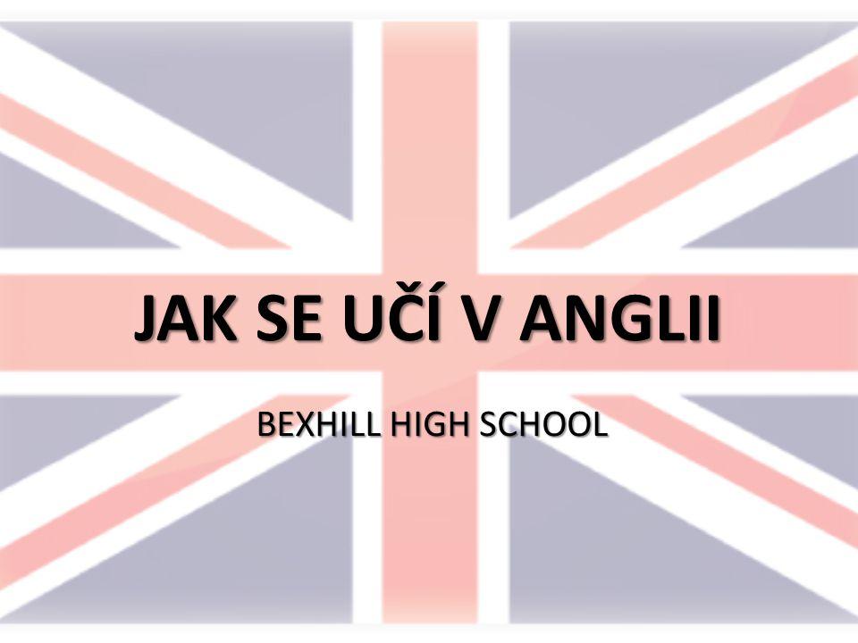 VZDĚLÁVACÍ SYSTÉM V ANGLII Jedenáctiletá povinná školní docházka Primary School – věk 5-11 let / Year 1-6 Secondary School – věk 11-16 / Year 7-11  General Certificate of Secondary Education (GCSE) College – věk 16-18 let  A-levels (maturita)